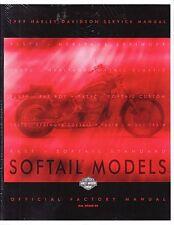 1999 Harley Softail FLS FXC Repair Service Workshop Shop Manual Book 99482-99