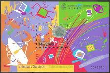 Macau - Telekommunikationssysteme Block 67 postfrisch 1999 Mi. 1026