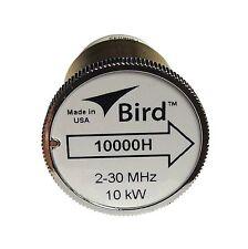 Bird 10000H Plug-in Element 0 to 10,000 watts 2-30 MHz for Bird 43 Wattmeters