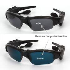 Sunglasses Bluetooth Headset Earphone Hands-free Phone Call For iPhone Samsung