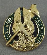 US Army 3 Star Basic Recruiter Minature Badge Insignia