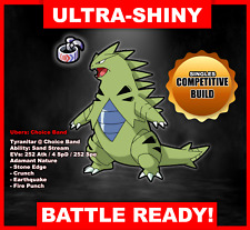 Pokemon Sword/Shield Ultra Shiny Battle Ready Tyranitar FAST DELIVERY