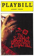 """Sutton Foster """"SCARLET PIMPERNEL"""" Douglas Sills / Frank Wildhorn 1997 Playbill"""