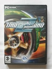 Need for speed underground 2 PC Game EA Complete FREE SHIPPING rare