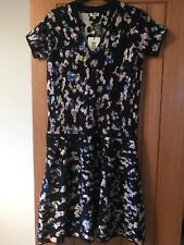 KENZO 🐯 Bnwt Nwt New Knit Dress Small Navy Blue Pink Purple Yellow Summer