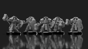 "Sci-Fi 28/30mm ""Morlock Sentinel"" Terminator Squad - Compatible w/ Warhammer 40k"
