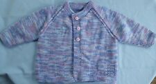 BABY HAND KNITTED, JACKET MULTI COLOUR SUIT 3 TO 6 MONTH OLD (15)