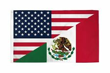 USA Mexico Friendship American Mexican Combination 3x5 Banner Flag