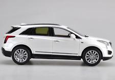 1/18 Gmac-saic original manufacturer,White Cadillac XT5 alloy car model