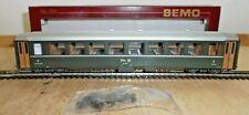 Bemo 3250 104 H0m Express Train Passenger Car Of Rhb With Zurüstteilen New Boxed
