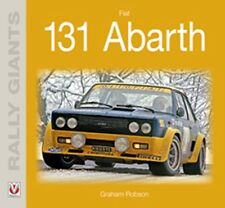 Fiat 131 Abarth Rally giants book paper