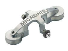 Microheli Blade MSR X / MSR S Silver CNC Aluminum Main Blade Grip MH-MSRX002