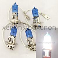 Combo (4Pcs) H3 100W Bright White Xenon Halogen Headlight #x3 Fog Light 2Pc Bulb