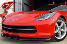 2014+ C7 Corvette C7 Carbon Carbon Fiber GTX Front Splitter With Side Splitters