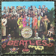 THE BEATLES Sgt Peppers Lonely Hearts Club Band LP Album MONO 1st Press VG-/VG+