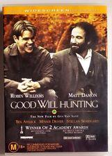 Good Will Hunting (Robin Williams & Matt Damon) DVD (Region 4)