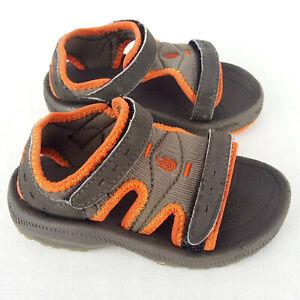TEVA KIDS Psyclone 6242 Girl Boy Sandals Olive Green Orange 22-23 Us7 Uk6 14.7cm