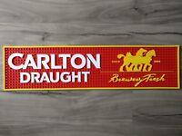 Carlton Draught pvc rubber bar mat runner barmat Pickup Available