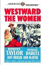 WESTWARD THE WOMEN - (1951 Robert Taylor) Region Free DVD - Sealed