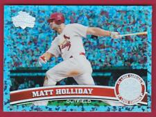 MATT HOLLIDAY 2011 TOPPS BLUE DIAMOND ANNIVERSARY #17/60 490