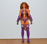 """DC INFINITE HEROES STARFIRE Action Figure Teen Titans 3.75"""" Mattel Comics"""