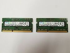 Samsung 2x 4GB PC3L-12800 SO-DIMM 1600MHz DDR3 Memory (M471B5173QH0YK0)