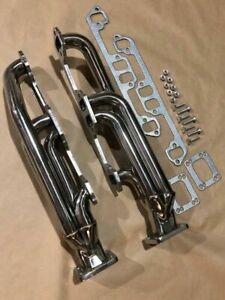 FOR DODGE MOPAR Twin Turbo Manifolds Headers T3T4 318 340 360 5.2L 5.9L MAGNUM