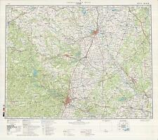 Russian Soviet Military Topographic Maps - AUSTIN (USA), 1:500 000, REPRINT