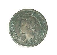 1895 1c Canada Queen Victoria Large Cent - XF