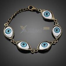 Fashion Punk Rhinestones Studded Evil Eyes Lovely Eyeballs Style Bracelet Gift