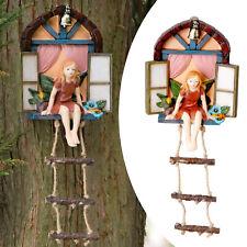 Fairy Tree Sculpture Outdoor Statue Polyresin Garden Decoration Ornaments