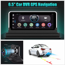 "New 7"" HD Android 4.4 GPS Nav Car Rear View DVR Camera Dsah Cam Recorder WiFi FM"