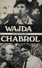 Claude Chabrol Andrzej Wajda American Underground mag