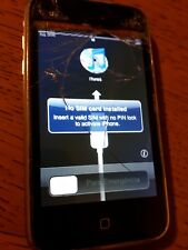 Apple iPhone 3G 16GB Black smartphone nero mod.A1241 da collezione, vintage,raro