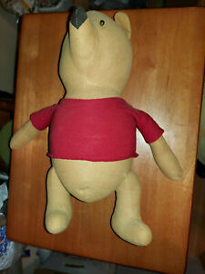 Original Vintage Antique Winnie the Pooh Made by Agnes Brush Great Collectible