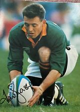 Springboks Rugby World Cup 1995 Hard Cover Signed Book.