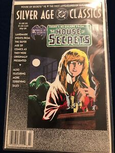DC Silver Age Classics The House Of Secrets Comic 92 Classic Reprint Swamp Thing