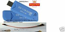 NEW SDR RTL2832U R820T2 USB DVB-T and RTL-SDR Receiver 2nd Generation USB Stick