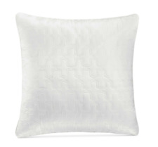 Hotel Collection Inlay Quilted European Sham, 26 x 26, White