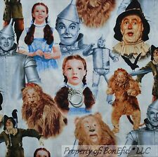 BonEful Fabric FQ Cotton Quilt Wizard of Oz Dorothy Girl Dress VTG Movie Costume