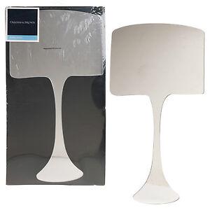 Graham & Brown Acrylic Lamp Shape Designer Wall Mounted Mirror Cupboard Dresser