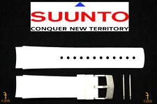 Suunto Elementum Ventus ORIGINAL White Rubber Watch BAND Strap Kit