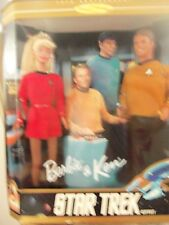 Barbie Star Trek Giftset 1996 Barbie Doll Mattel NRFB, NEW