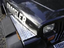Jeep YJ Wrangler Diamond Plate Fender Top Covers Very Nice Only $27.99 WOW!! :)