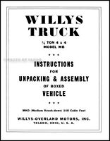 brand new 1943 Willys JEEP Military US ARMY in orig pkg 1942,1944,1945 similar