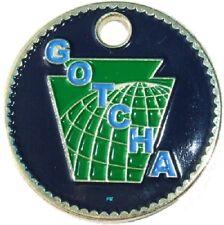 GOTCHA Keystone Pathtag geocoin - New