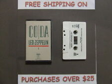 """LED ZEPPELIN CODA CASSETTE W/ """"I CAN'T QUIT YOU BABY"""" 100"""