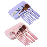 BIOAQUA 7Pcs Makeup Brushes Eye Lip Face Foundation Make Up Brush Kit