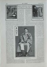 1901 PRINT DEATH OF LI HUNG CHANG ~ GRANDSON LORD SALISBURY