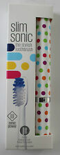 Slim Sonic Classic Battery Operated Travel Toothbrush - Confetti - from Violife